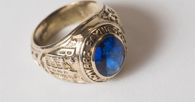 Lost for 60 years, ring turns up in dry Texas lake
