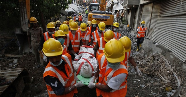 Survivors found days after India building collapse
