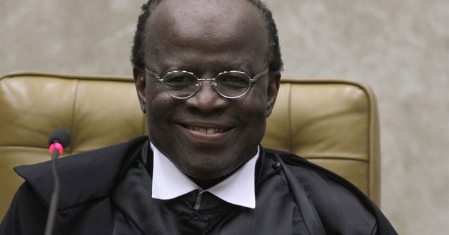 Brazil Supreme Court 1st black justice steps down