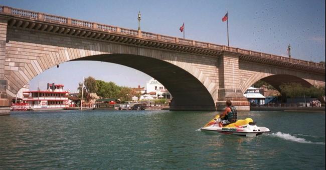 Correction: Arizona's London Bridge story