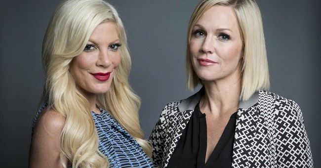 Tori Spelling and Jennie Garth reunite on new show