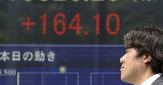 Asian stocks mostly higher on US, China growth