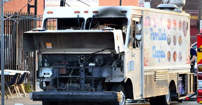 Police: Leak, grill heat caused food truck blast