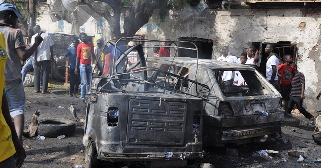 Civilian group: 56 dead in Nigeria market blast