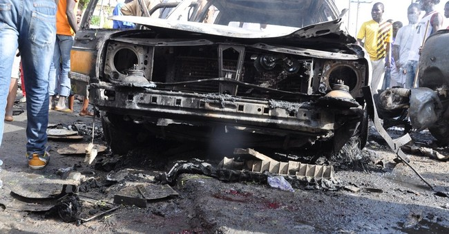 Civilian group: 56 dead in Nigeria market blast