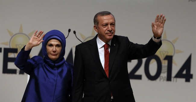 Presidency move comes with some peril for Erdogan