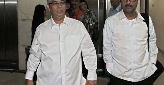 Indonesia's ex- top judge gets life for corruption