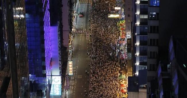 Police arrest 511 after big HK democracy rally