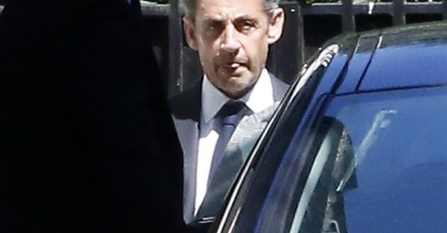Sarkozy fights back in face of corruption charges