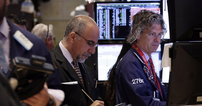 Hiring gain sends stocks higher in midday trading