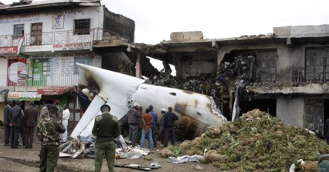 4 dead after cargo plane crashes in Kenya capital