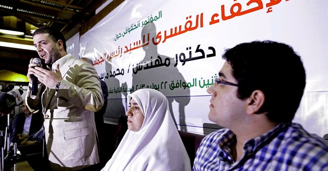 Son of Egypt's ousted leader sentenced to 1 year