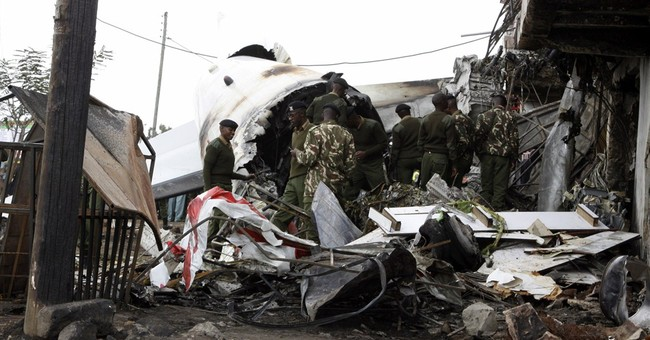4 dead after cargo plane crashes in Kenya capital