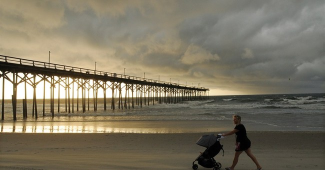 Arthur's widest effects? Dangerous rip currents