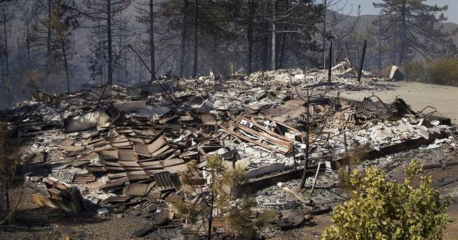 California wildfire destroys 8 homes; others rage
