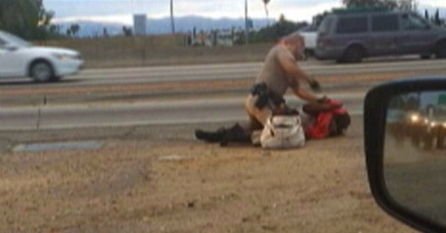 Video shows California officer punching woman
