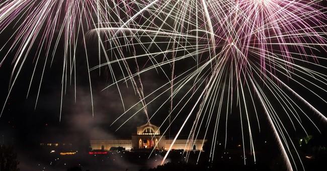 Fireworks, hot dogs, hurricane help mark July 4th