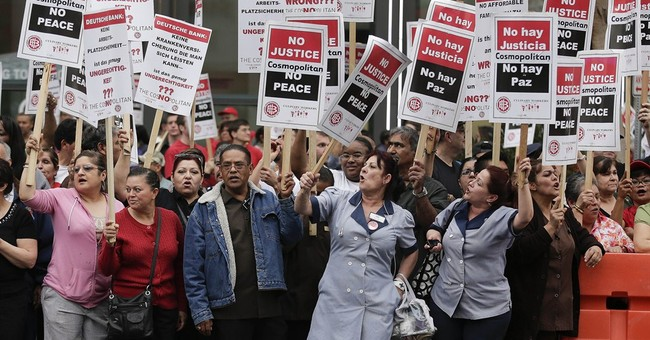 Unions representing government workers are gaining