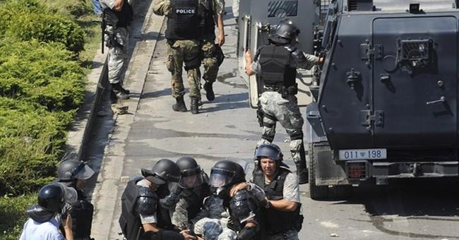 Macedonia: Ethnic Albanians clash with police