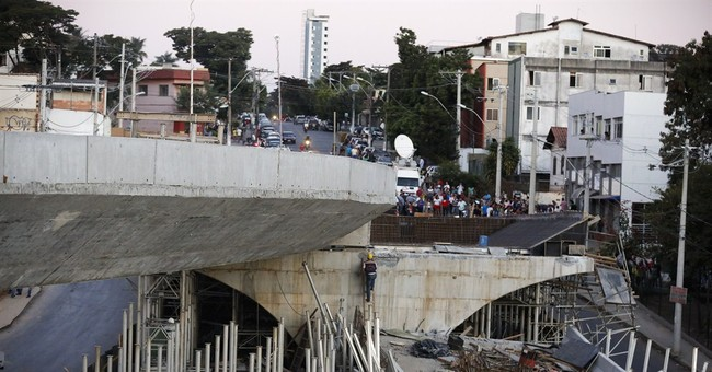Final death toll of collapsed Brazil overpass is 2