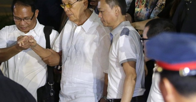 3rd Philippine senator arrested in corruption case