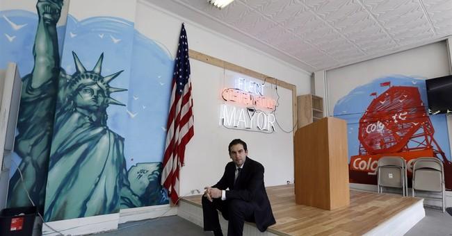 Wall Street, Marine vet mayor shakes things up