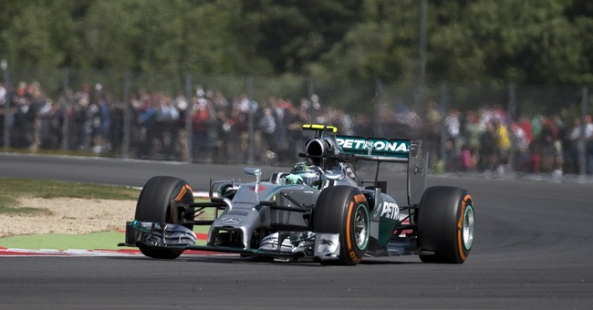 Hamilton back on top, but stops on track