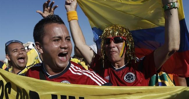 Brazil fans celebrate win, lament losing Neymar