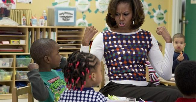 First lady bucks GOP on school lunch rules