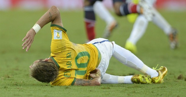 Column: Neymar a victim of the World Cup show
