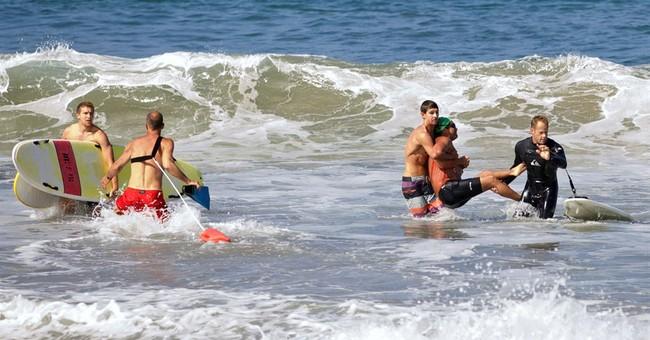 Shark bites man near Southern California beach