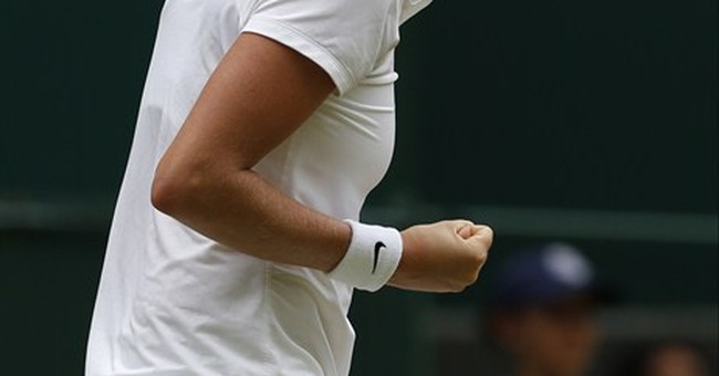 Kvitova wins 1st set 6-3 in final vs Bouchard