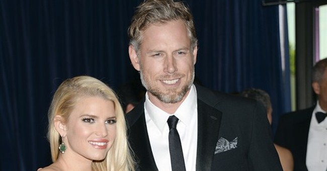 Jessica Simpson weds ex-NFL player Eric Johnson