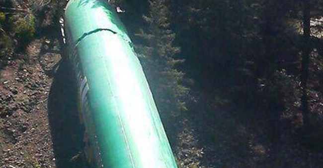 First of 3 fuselages removed from derailment site