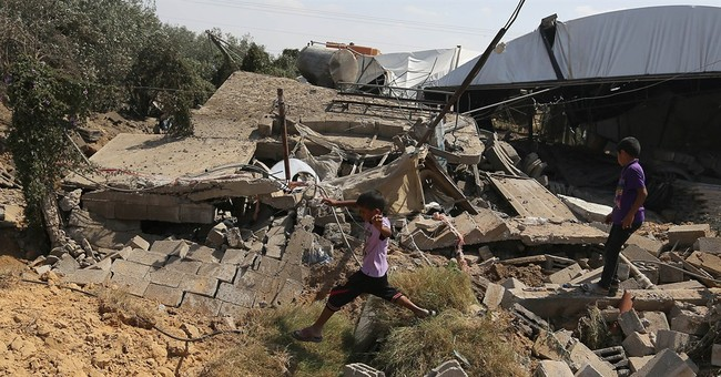 Gaza militants unleash heavy rocket fire on Israel