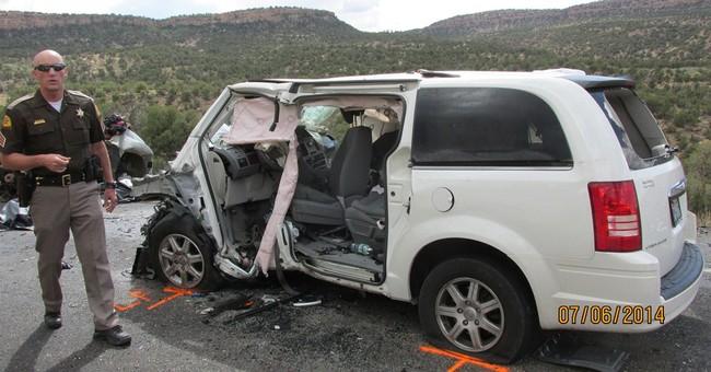 11-year-old among 6 killed in fiery Utah crash