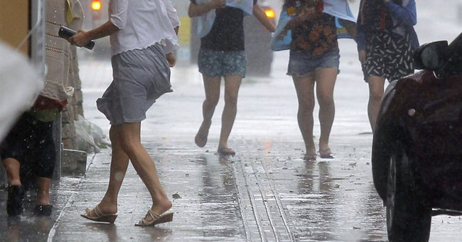 Typhoon heads toward Kyushu after slamming Okinawa