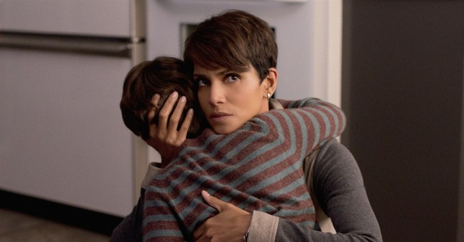 Halle Berry as a pregnant astronaut on 'Extant'
