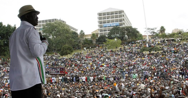 Thousands rally in Kenya against president's rule