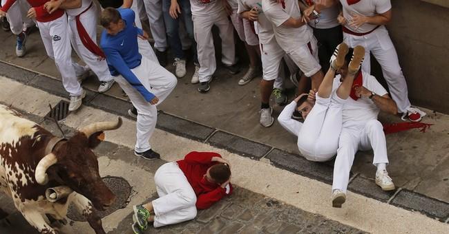 No gorings in 2nd bull-run at Spain's San Fermin