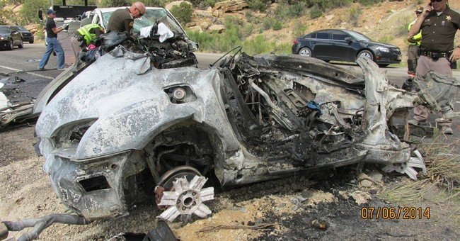 11-year-old among 6 killed in fiery Utah crash