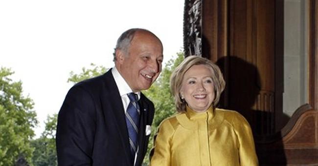 Hillary Clinton: US-Europe must nurture ties