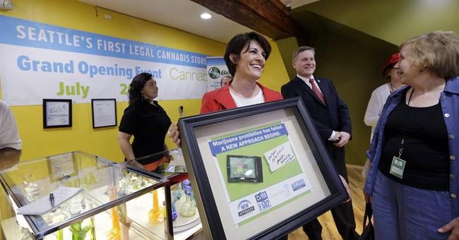 Seattle city attorney's 1st-day pot buy broke rule