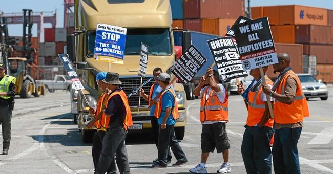 Labor dispute briefly shuts LA, Long Beach ports