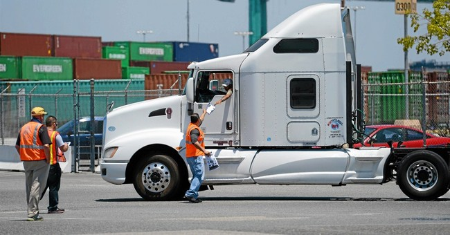 Labor dispute briefly shuts LA, Long Beach ports