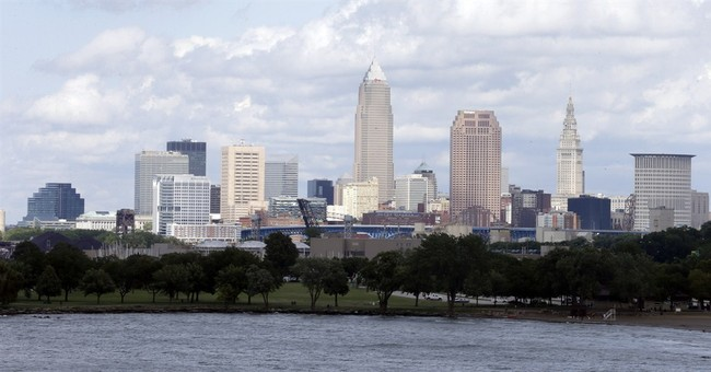 Convention another step for Cleveland's comeback