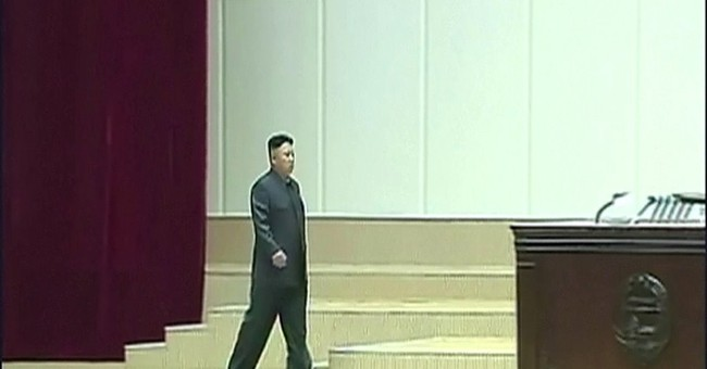 North Korean leader limps at televised event