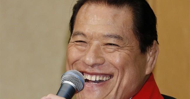 Japanese pro-wrestler plans Pyongyang extravaganza