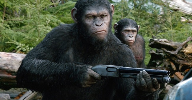 Review: No monkey business in 'Planet of the Apes'