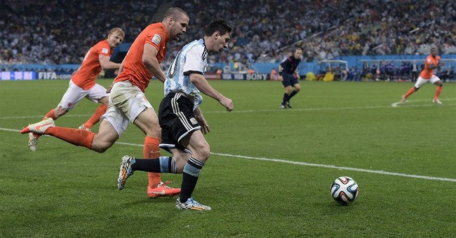 Column: Messi missing signature World Cup moment